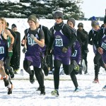 The Glenrock boys cross country team begins the 2A Cross Country State Championship at the Douglas Golf Course and Community Club. Both the girls and boys team finished in the top three for team scores.