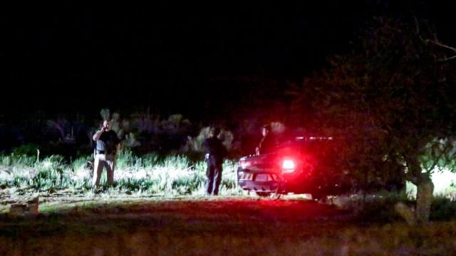 Fort Laramie Street crime scene
