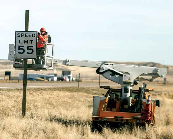 After months of residents and town officials pleading with WYDOT to drop the speed limit from 70 mph to 55 mph along WYO 20/26 on Glenrock's eastern access, the state department officially did that on Tuesday with the signs swapped out.