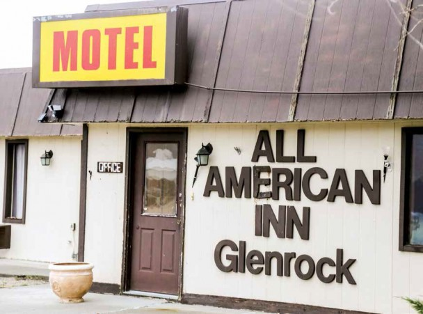 Town signs purchase agreement to buy and clear two unused motels in town, removing hazards and eyesores