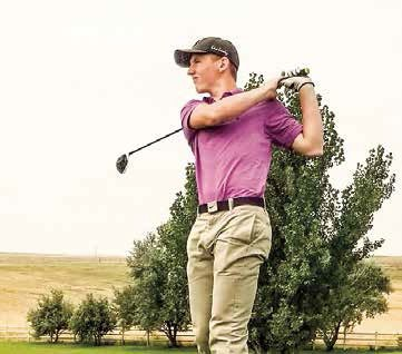 Junior Archer Young hit a 79 in Cheyenne last weekend. It was the first time he's broken 80 in a tournament. Young is from Glenrock and has been competing with the Douglas golf team for three years.