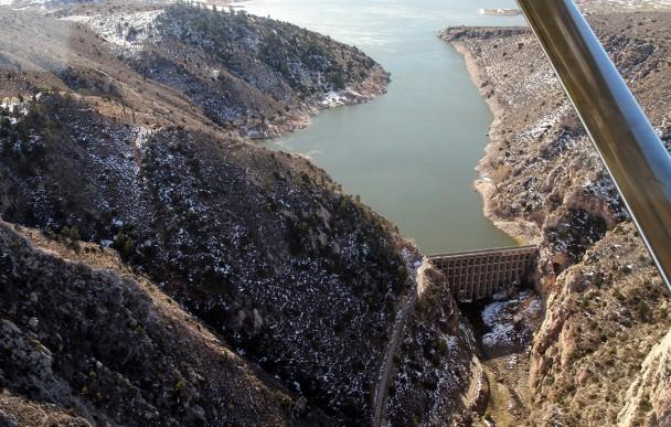 LaPrele Dam by Cinthia Stimson