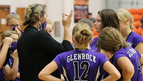 Nicole Williams Glenrock Wyoming WCA Jr High Coach of the Year