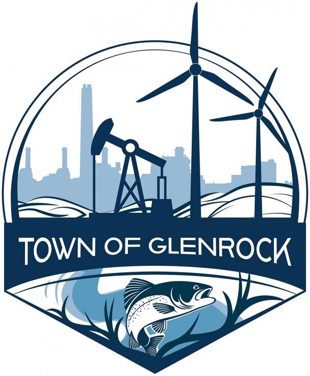 The Town of Glenrock logo